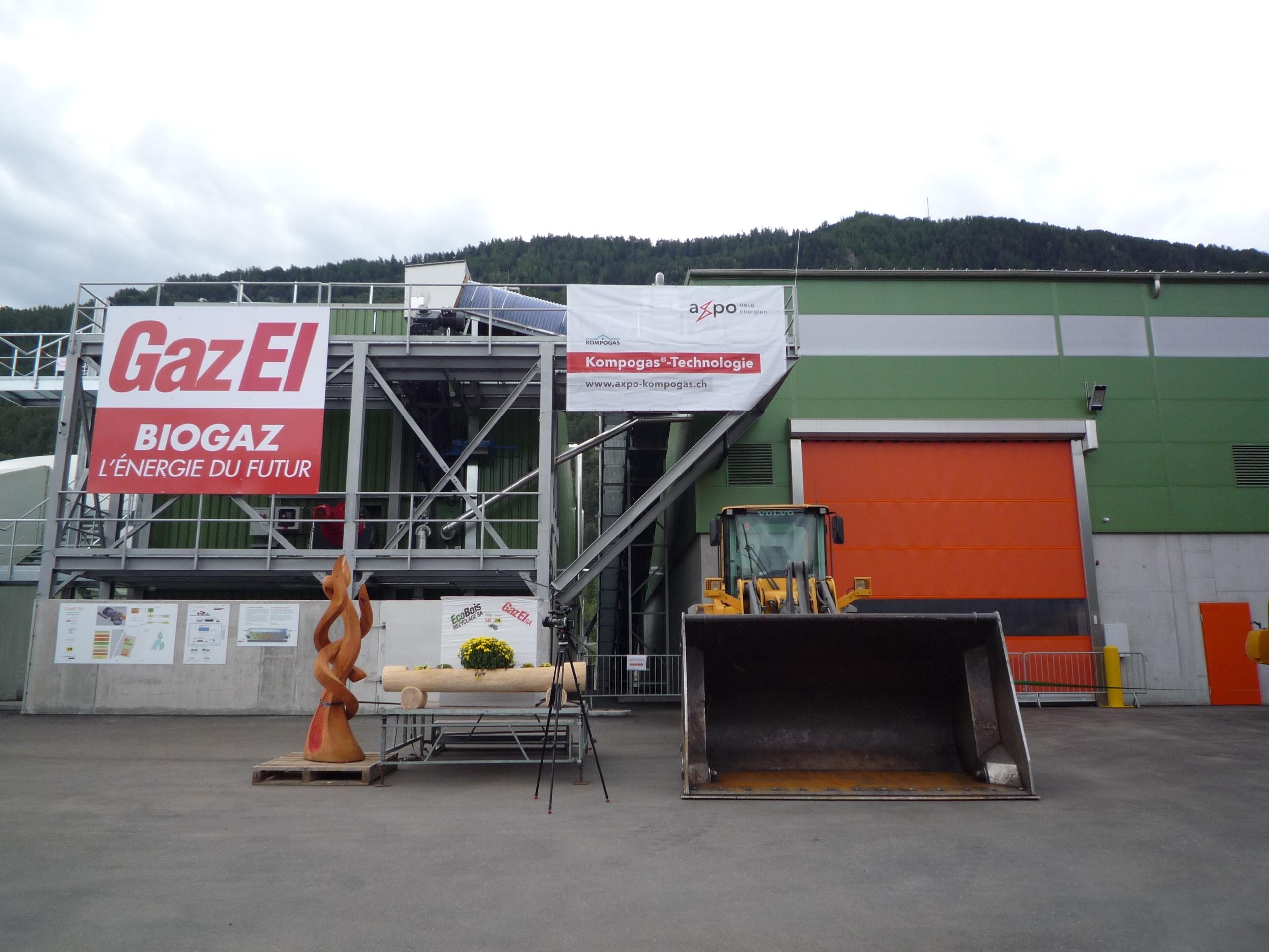 Biogasanlage Vetroz