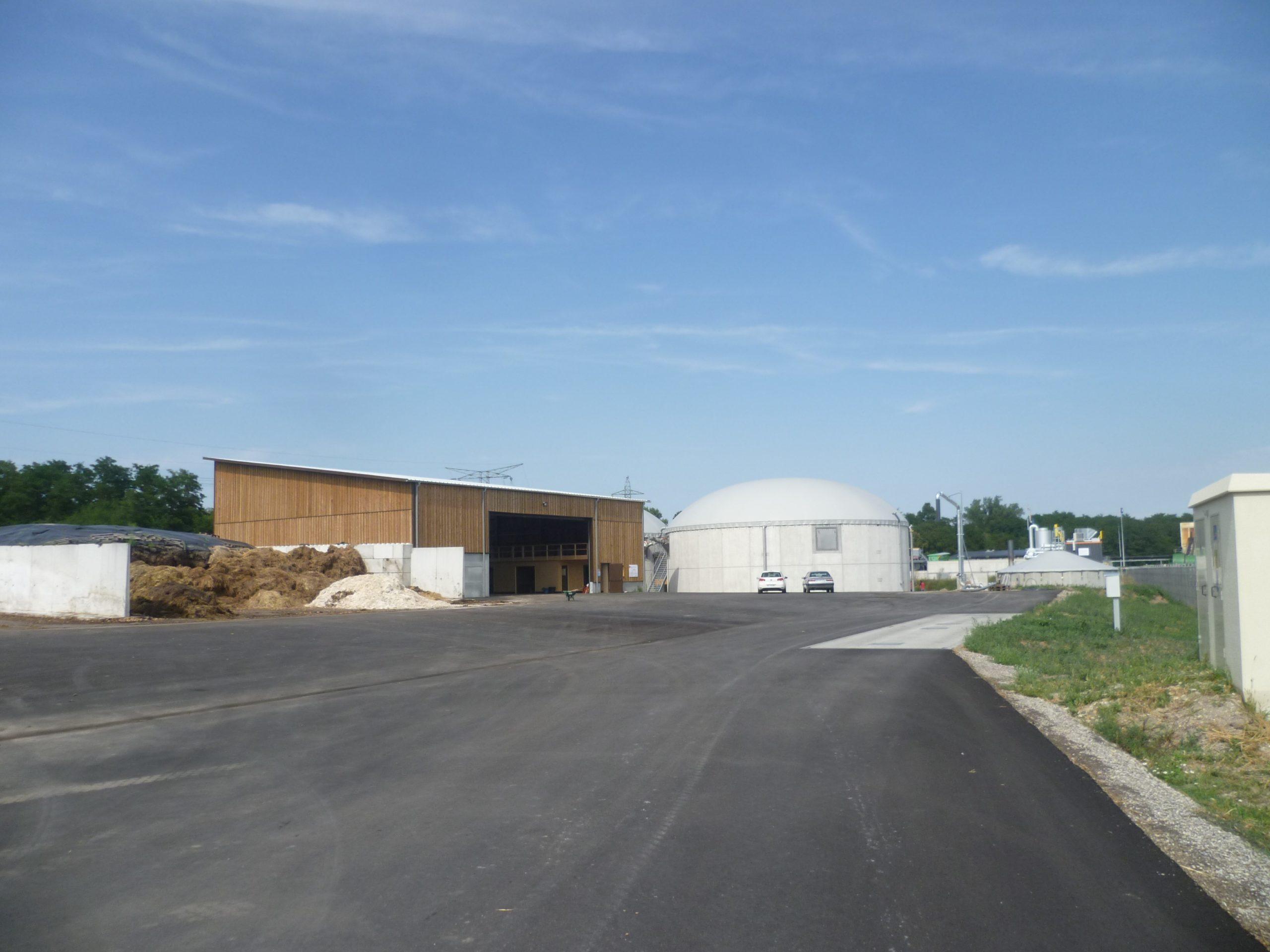 Construction d'une unité de méthanisation agricole – SAS Méthaniseur des Deux Vallées