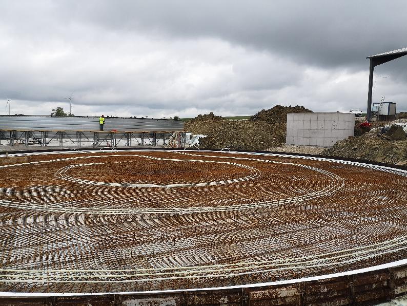 Rytec construit un méthaniseur agricole à Lorentzen, Alsace