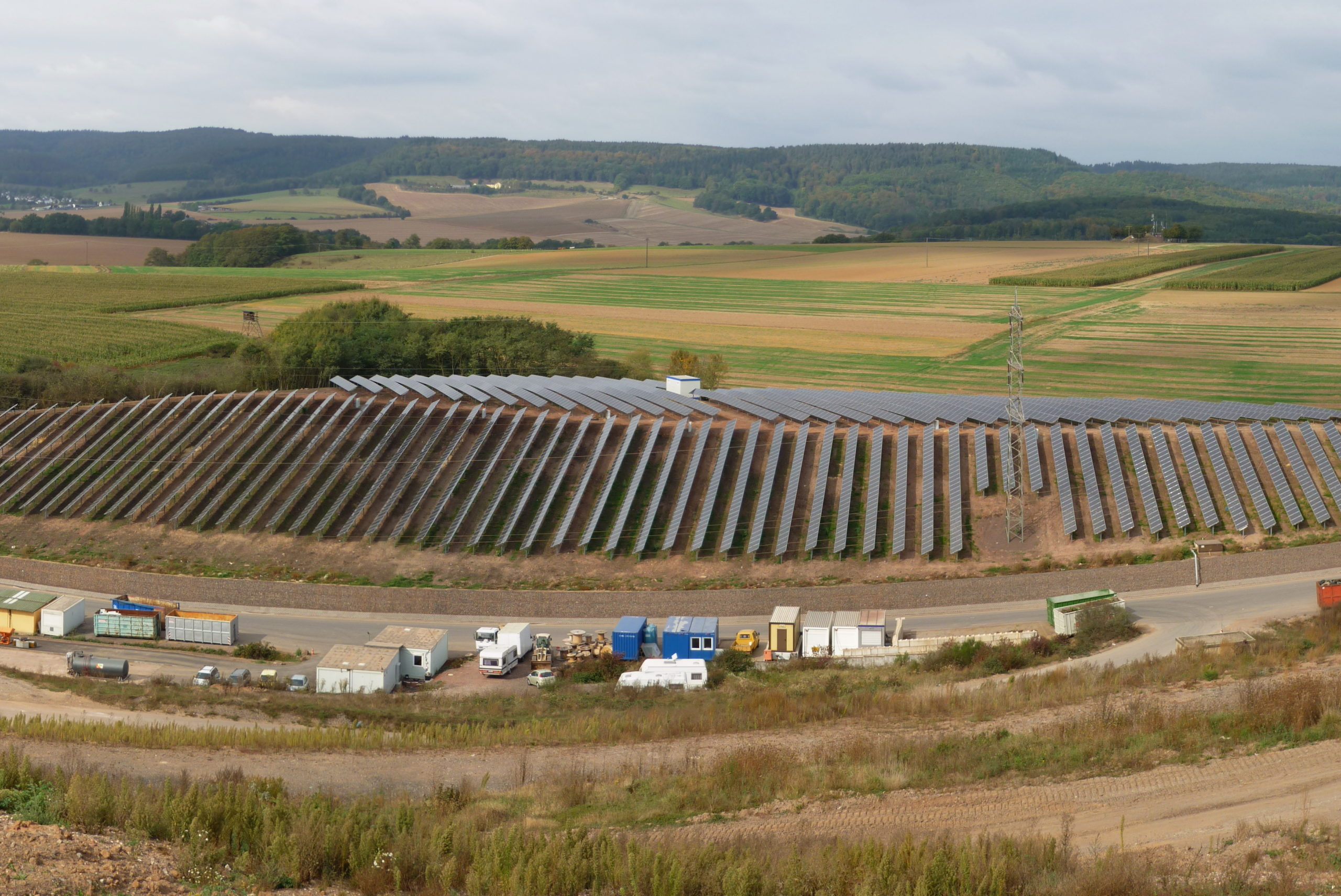 PV-Anlage auf der Deponie Sehlem