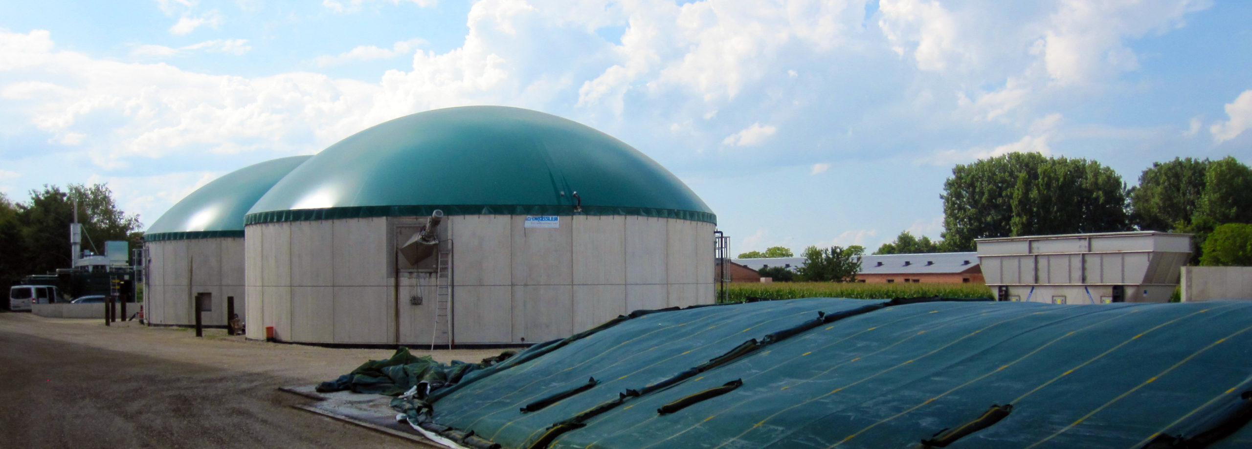 Wartungs- und Servicevertrag für die Biogasanlage SAS du Kirchweg